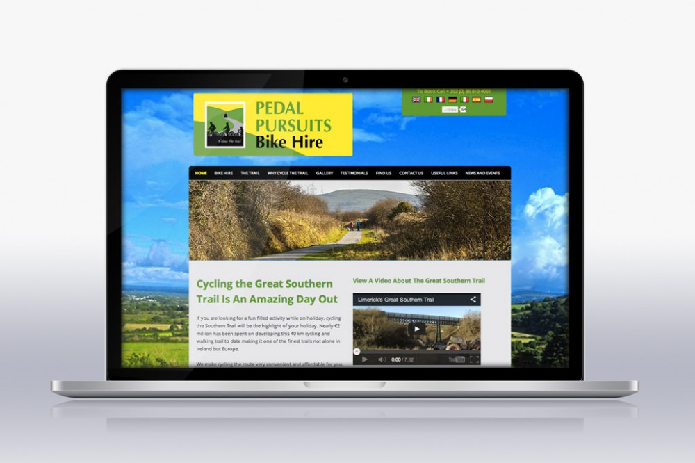 Pedal Pursuits Homepage
