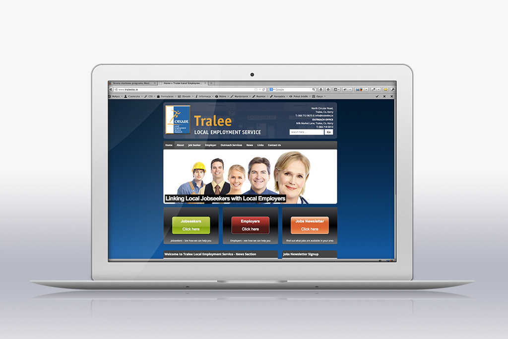 Tralee LES home page