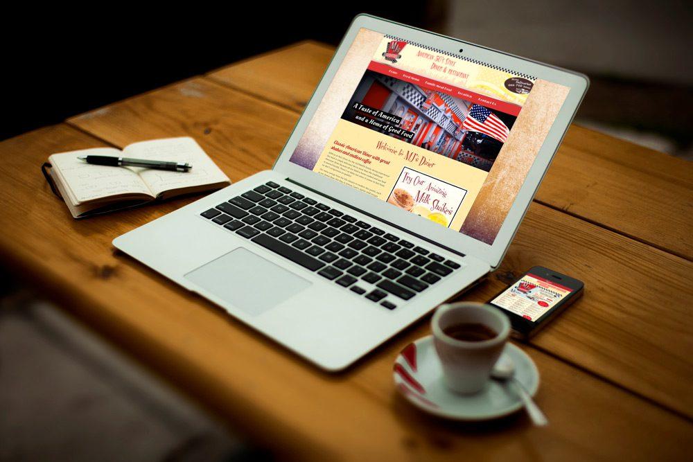 MJs Diner Homepage